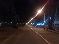 Late night walk home