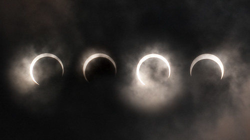 Solar eclipse as seen from Jakarta