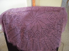 Lace Garland Shawl