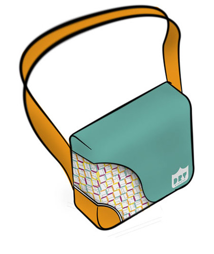 Dry Diapers | Bag with Logo/Pattern Applied