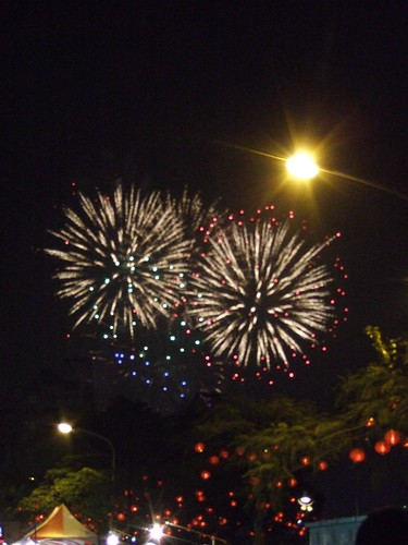 2009高雄元宵燈會煙火秀