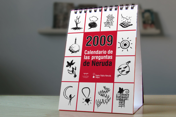 Calendario de las Preguntas de Pablo Neruda