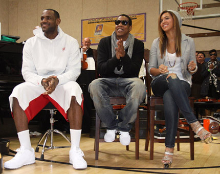 La Bron, Jay Z, and Who's That Girl?