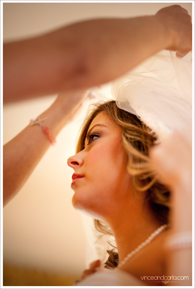 portrait tina wedding dual portrait with everyone preparation dressing up chapel of roses negative space