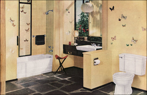 1954 Universal Rundle Bathroom