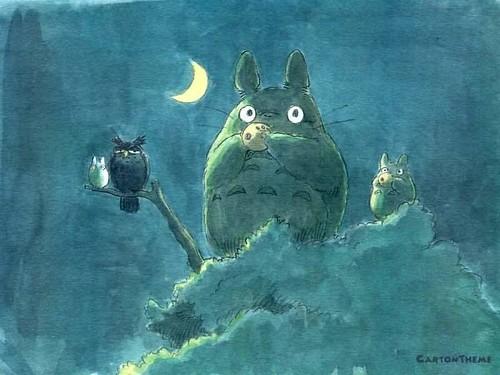 龙猫/经典插画