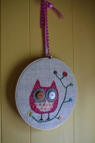 wall hanging owl