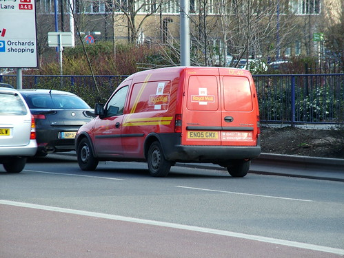 Royal Mail Vauxhall Combo CDTi