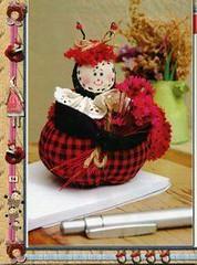 Essa  para as meninas q gostam de joaninha. (soniapatch) Tags: ladybug tutorial joaninha mariquitas passoapasso