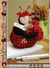 Essa é para as meninas q gostam de joaninha. (soniapatch) Tags: ladybug tutorial joaninha mariquitas passoapasso
