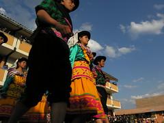 ANS163DSCN2915 (David Ducoin) Tags: village danse tradition fête ayacucho flou école perou quechua marinera floklore cordillèredesandes