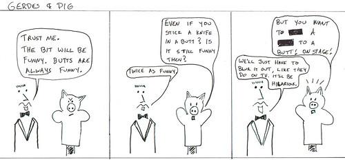 366 Cartoons - 035 - Gerdes and Pig
