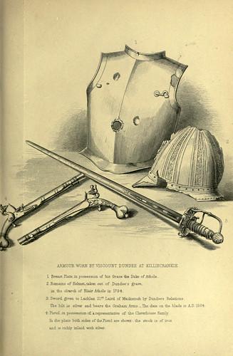 028-Armadura y armas usadas por el vizconde Dundee en Killiecrankie