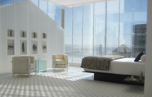 Miniarcs: Bedroom with Bay Bridge View