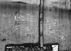 "4"" Between Plates (Sparrowfall) Tags: 120 monochrome blackwhite 645 industrial analogue boiler 80mmf19"