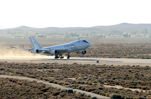 Deadly aim: Airborne Laser fires tracking laser, hits target