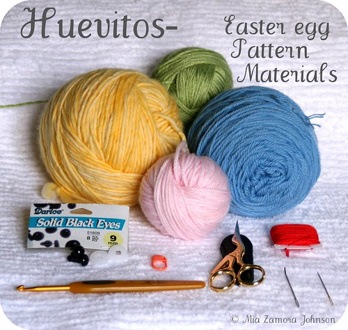 Huevitos- pattern supplies