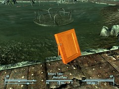 Photo Frame In fallout 3 - Collision Corrected.