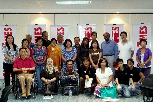 NST blogging workshop - group photo