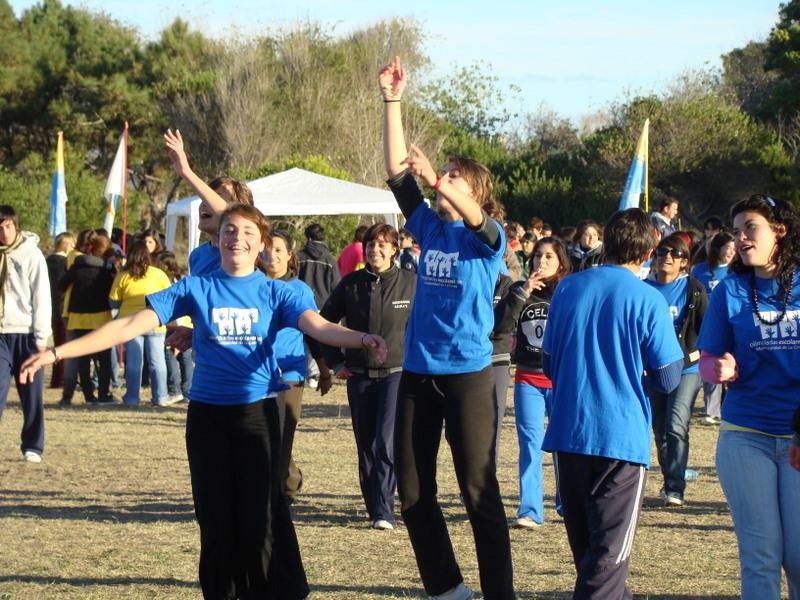 Olimpíadas Escolares 2009: vuelve la alegría