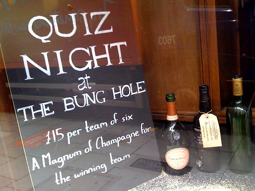 bung hole quiz