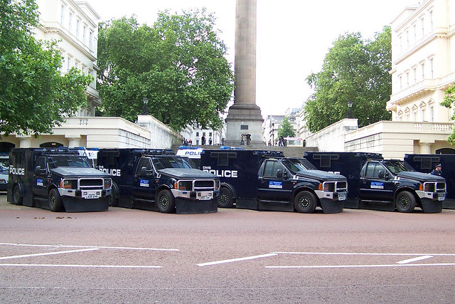 london ford police superduty jankelguardian