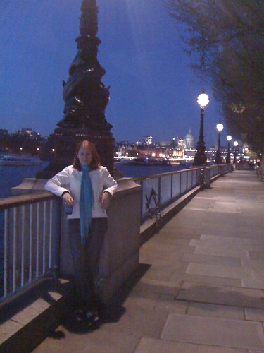 Me on the Thames