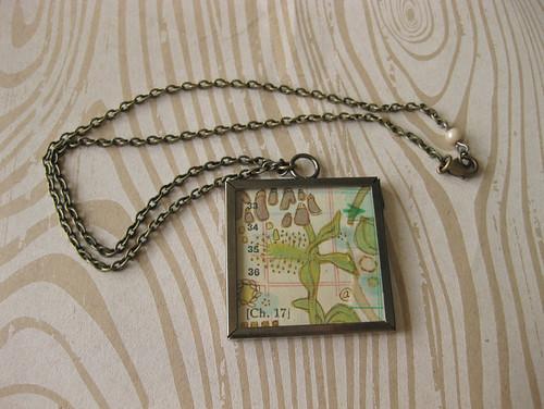 Nurture thy Mind No. 3 Pendant Necklace