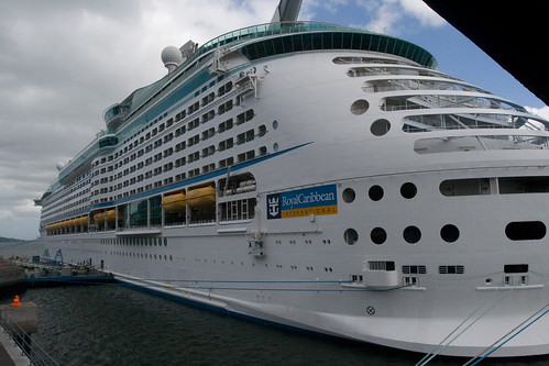 Voyager of the Seas in Cobh
