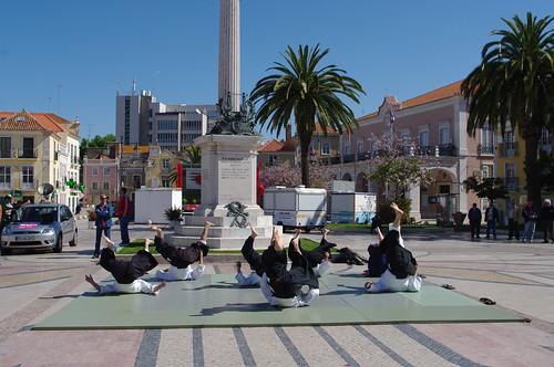 demontração na Praça do Bocage 1MAIO2009 #10