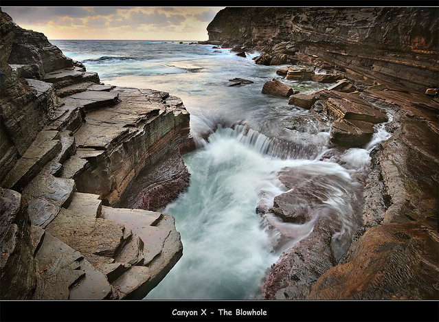 Canyon X - The Blowhole