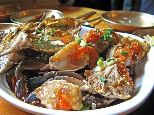 Kanjang gaejang ( 간장게장)