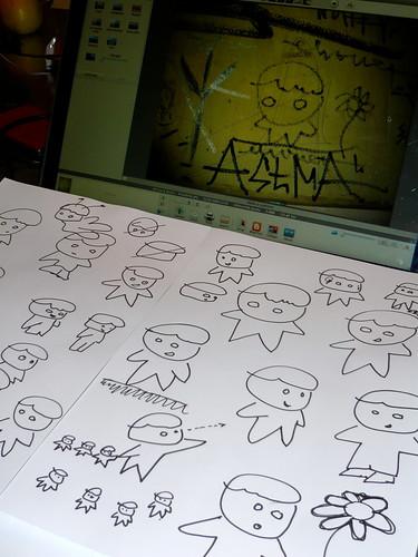 Skizzieren üben für Konzepter: Personen