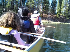 Floating from Wickiup Reservoir to Pringle Falls Photo