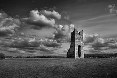Godwick (Nick J Stone) Tags: sky blackandwhite cloud church monochrome weather mono village norfolk ruin medieval dmv derelict deserted folly fakenham churchruins desertedmedievalvillage explored ruinedchurches weatherphotography godwick monochromesky monochromeskies desertedmedievalvillages grade4paper nickstone wethare