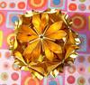 Arabesque dourado (Isa ♥ ♥) Tags: modular arabesque kusudama miotsugawa