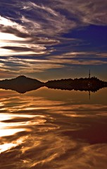 Paradise (sir_watkyn) Tags: sunset sky india reflection composition canon landscape shimla interestingness dusk silhouettes hues soe himachal breathtaking pradesh abigfave colorphotoaward ysplix theunforgettablepictures breathtakinggoldaward sirwatkyn graphicmaster