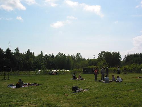 Sunny June at UBC Farm