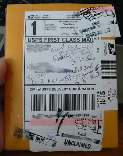 A algunos paquetes les cuesta llegar a su destino. Foto cortesía de marajane creations