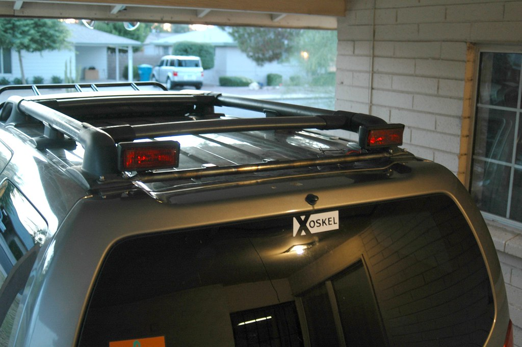 Xoskel light bars page 2 expedition portal sneak peek at rear light bar shown here with kc 26series lights 2 x 6 x 35 tall aloadofball Choice Image