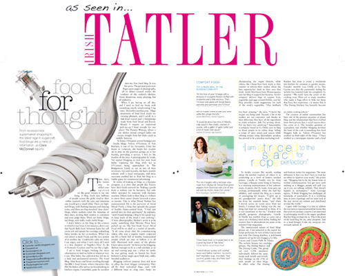 :: Good Mood Food in Irish Tatler!