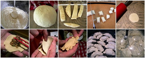 Assembling the Potstickers