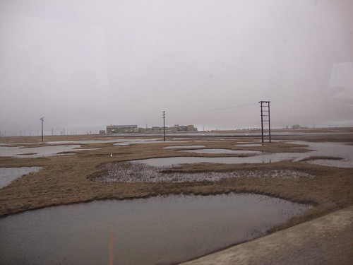 Camp Li Wa June 2009 4a 031  Prudhoe Bay oil processing plant