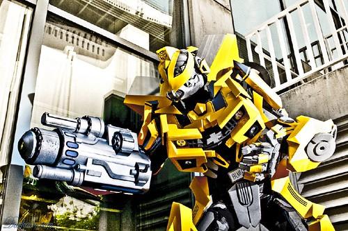 Disfraz de Bumblebee TF2