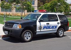 UCSBPD (So Cal Metro) Tags: ford santabarbara university cops explorer police cop policecar uc suv ucsb interceptor copcar