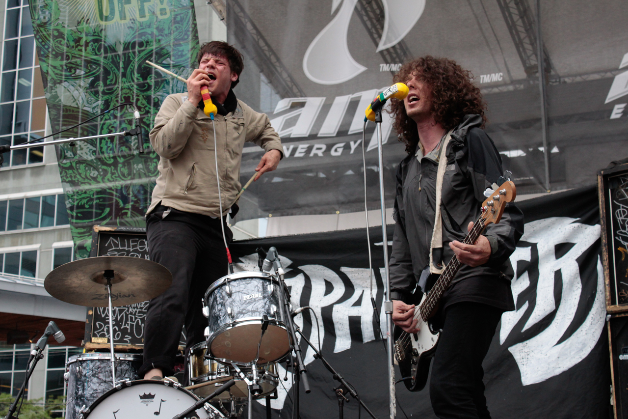 Japanther—June 20, 2009 @ Yonge Dundas Square