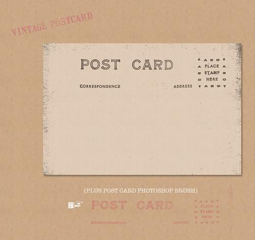 vintage postcard blahg