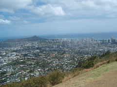 Honolulu from Pu'u Ualaka'a Wayside Park