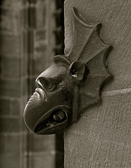 on the wall (penwren) Tags: sculpture france animal cathedral strasbourg cathdrale alsace cathdralenotredamedestrasbourg