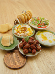 1:12 Scale Miniatures from the Mediterranean Cuisines (Shay Aaron) Tags: food scale kitchen israel miniature salad mediterranean handmade aaron middleeast fake balls mini vegetable fimo arab tiny shay oliveoil falafel 12th 112  hummus pinenuts dollhouse petit pita sesamepaste tahini     tehina            shayaaron